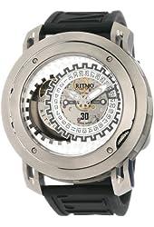 Ritmo Mundo Men's 202 TIT Persepolis Dual-Time Exhibition Automatic Watch