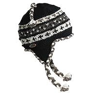 Turtle Fur - Women's Nepal Tyler, Artisan Hand Knit Earflap Hat