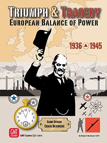 Triumph and Tragedy: European Balance of Power by GMT Games