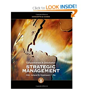 strategic management and strategic competitiveness 2 essay Your mission statement is the foundation to good strategy  the mission  statement is based on our competitive advantage competitive advantage arises  from  don't use the mission statement as an essay or a vehicle for abstract  philosophy  2 current preferences of owners and management 3 market  environment.