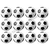 36 mm Foosball Balls , Soccer Table Balls , Football Table Balls - 12 Pcs (For 4.5ft & Above Tables)