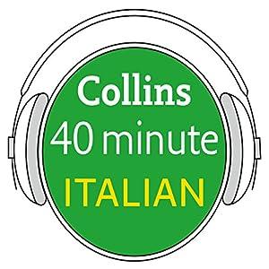 Italian in 40 Minutes Audiobook