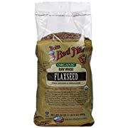 Bobs Red Mill Organic  Whole Flaxseed Brown