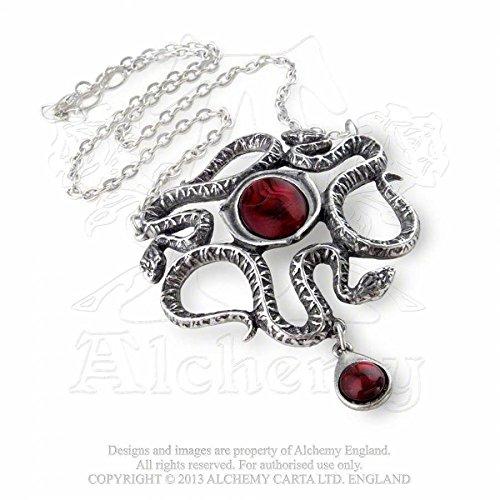 Alchemy Gothic Occhio del serpente Collana