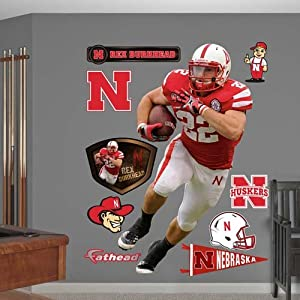 NCAA Nebraska Cornhuskers Rex Burkhead Wall Graphic by Fathead