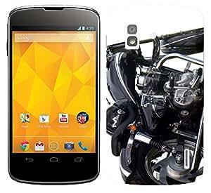 WOW Printed Designer Mobile Case Back Cover For LG Google Nexus 4 E960