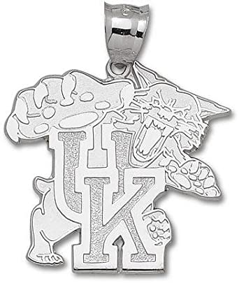 Kentucky Wildcats Giant 1 5 8 W x 1 5 8 H Wildcat 1 5 8 Pendant - 14KT Gold Jewelry by Logo Art