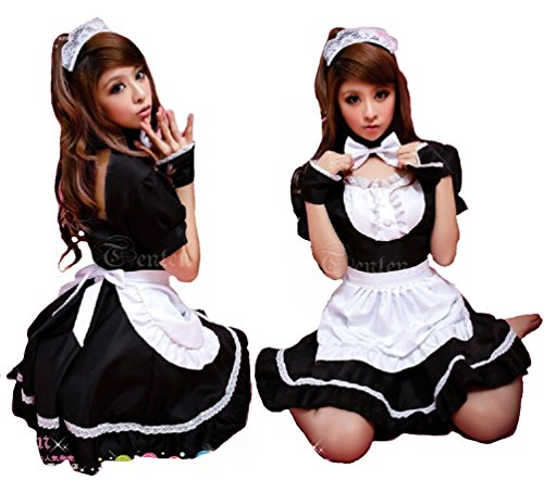 Sexy Women Lovely Cosplay Costumes Dress Outfit SXC015