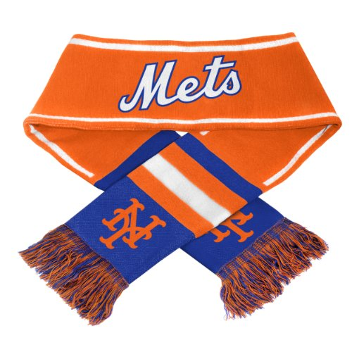 New York Mets MLB 2013 Team Wordmark Knit Scarf at Amazon.com