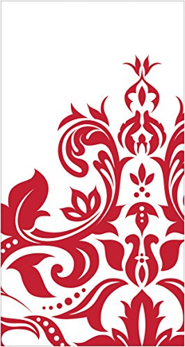 Creative Converting 16 Count 3 Ply Anniversary Guest Napkins, Ruby