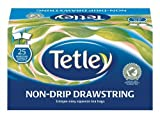 Tetley Black Tea Drawstring in Envelope - Pack of 25 Tea Bags