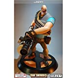 Heavy Team Fortress 2 Blue Gaming Heads Statue