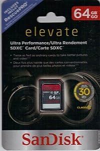Ultra High Speed 64Gb Sd Memory Card - Black (Sdsdu-064G-T46)- Sandisk