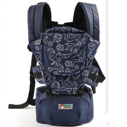 Blue Top Baby Sling Toddler Wrap Rider Baby Backpack front-1028519