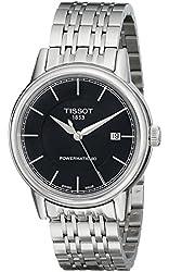 Tissot Men's T0854071105100 T Classic Powermatic Analog Display Swiss Automatic Silver Watch