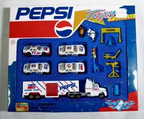 Pepsi Racing TEAM Playset, 14 Pieces - Buy Pepsi Racing TEAM Playset, 14 Pieces - Purchase Pepsi Racing TEAM Playset, 14 Pieces (Pepsi, Toys & Games,Categories,Play Vehicles,Vehicle Playsets)