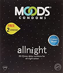 Moods All Night 20's Condom free 2 free condoms