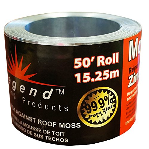 Legend Roofing Products Zinc Strip Moss Preventer 2 5 8