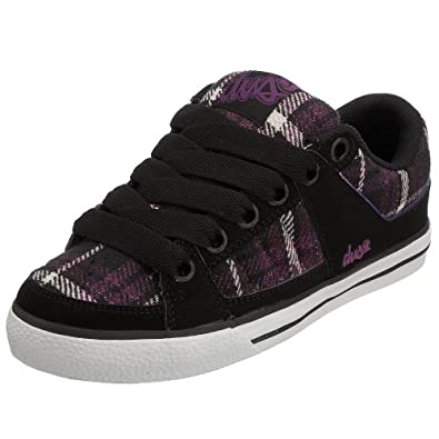 dvs s brody skate shoe black purple 5 5 m us