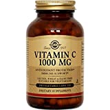 Solgar Vitamin C 1000 mg, 250 Vegetable Capsules