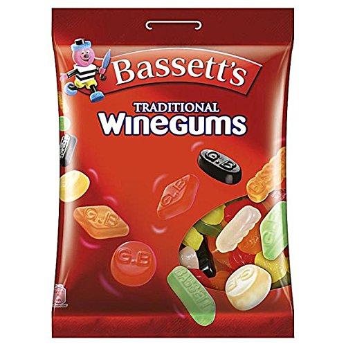 15 Beutel Bassett's English Wine Gums à 200g