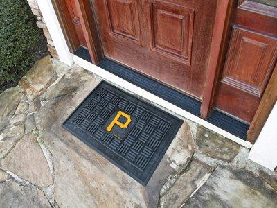 "Fan Gear Fanmats Pittsburgh Pirates Medallion Door Mat Size=19""x30"" MLB-11310"