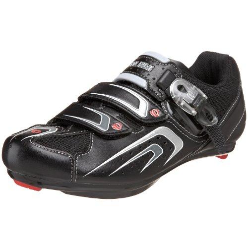 Pearl iZUMi Men's Race Road Cycling Shoe,Black/Shadow Grey,44 D EU / US Men's 10 M