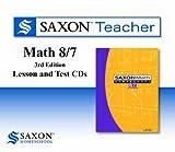Saxon Teacher for Math 8/7, 3rd Edition