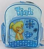 Disney Tinker Bell Girls 16 Kids Backpack and Girls Large Book Bag Pink