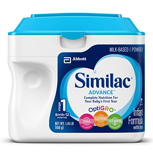 Similac Advance Infant Formula with Iron, Stage 1 Powder, 23.2 Ounce