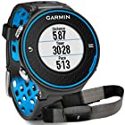 Garmin Forerunner 620 GPS Running Watch Bundle with HRM (Black/Blue)