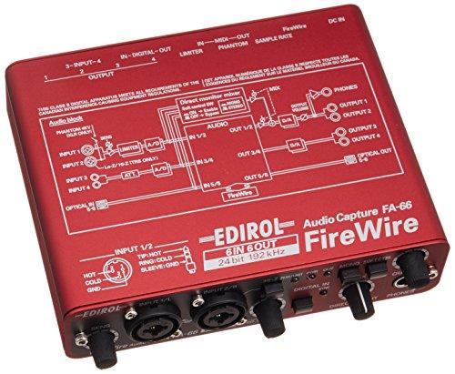 Roland ローランド オーディオインターフェイス FireWire AUDIO CAPTURE FA-66