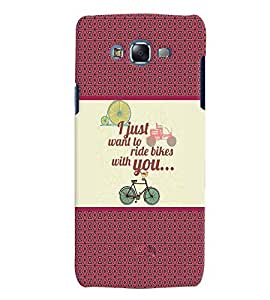 Fuson 3D Printed Quotes Designer back case cover for Samsung Galaxy J5 - D4380