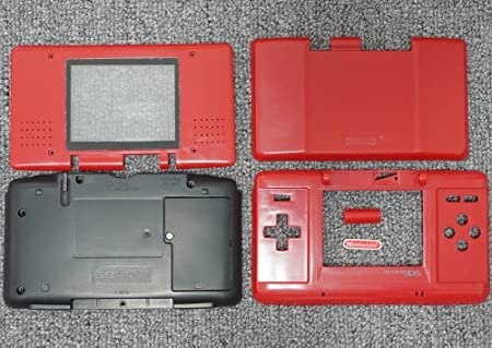 Red Original Nintendo DS Complete Full Housing Shell Case Replacement Repair Fix [video games]