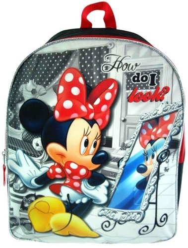 "Minnie Mouse Bowtique 16"" Backpack - 1"