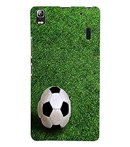 ColourCraft Football Design Back Case Cover for LENOVO A7000