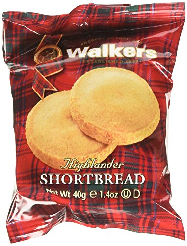 Walkers Shortbread Highlanders 2 count  (Pack of 24) (Walkers Bread compare prices)