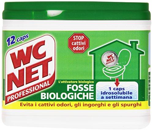 Wc Net - Fosse Biologiche, l'Attivatore Biologico - 12 Caps