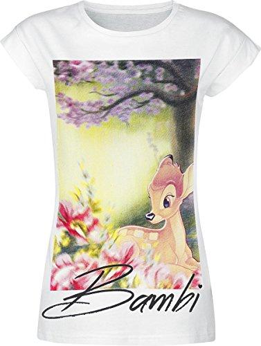 Bambi Forest Maglia donna bianco XXL