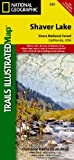 Search : Shaver Lake / Sierra National Forest, California (Trails Illustrated Map)