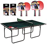 Butterfly Start Sport Table Tennis With Table, Bats & Balls - 1340905