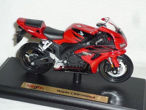 Honda Cbr1000rr Cbr1000 Rr Cbr 1000 1000rr Rot Schwarz Mit Sockel 1/18 Maisto Modellmotorrad Modell Motorrad