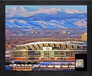 Denver Broncos Mile High Stadium 2006 Photo 17 x 21 Framed by NFL