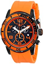 MULCO Unisex MW1-10186-082 Analog Display Swiss Quartz Orange Watch