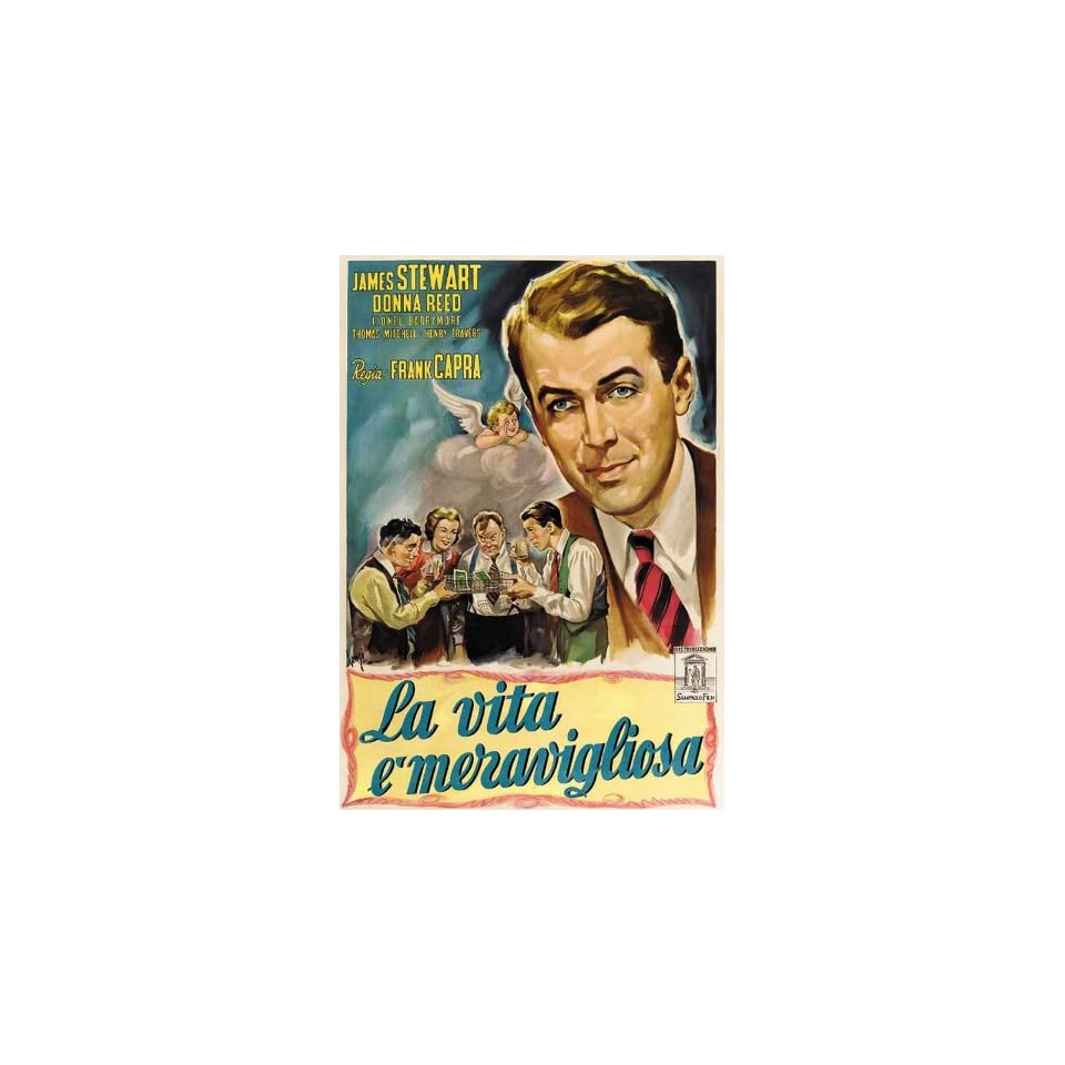 Its a Wonderful Life Movie Poster (11 x 17 Inches 28cm x ...