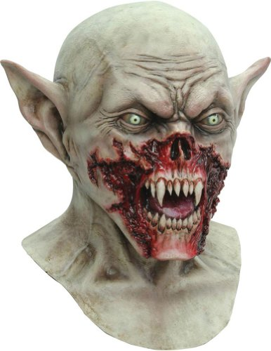 Scary-Masks Kurten Adult Latex Mask Halloween Costume - Most Adults