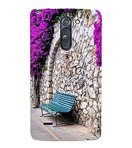 Beautiful Pathway 3D Hard Polycarbonate Designer Back Case Cover for LG G3 Stylus :: LG G3 Stylus D690N :: LG G3 Stylus D690