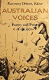 img - for Australian Voices - Poetry And Prose Of The 1970's book / textbook / text book