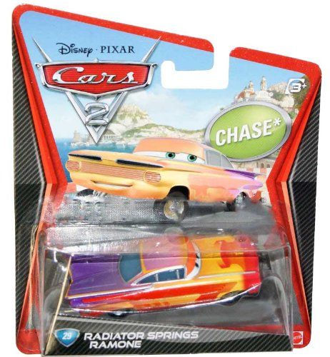 2012 Disney Pixar Movie Cars 2 Radiator Springs Ramone Chase Car - 1