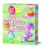 4M Eggs Glitter Mould and Paint